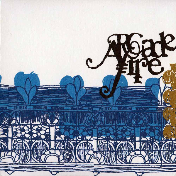 Arcade Fire - Us Kid Know EP - Primera vez en vinilo, color azul transparente, limitado a 3000 copias, numerado.