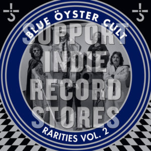 Blue Öyster Cult - Rarities Vol. 2 - Vinilo azul traslúcido, 100 fotos autografiadas distribuidas aleatoriamente, gatefold, primera vez en vinilo, limitado a 1400 copias.