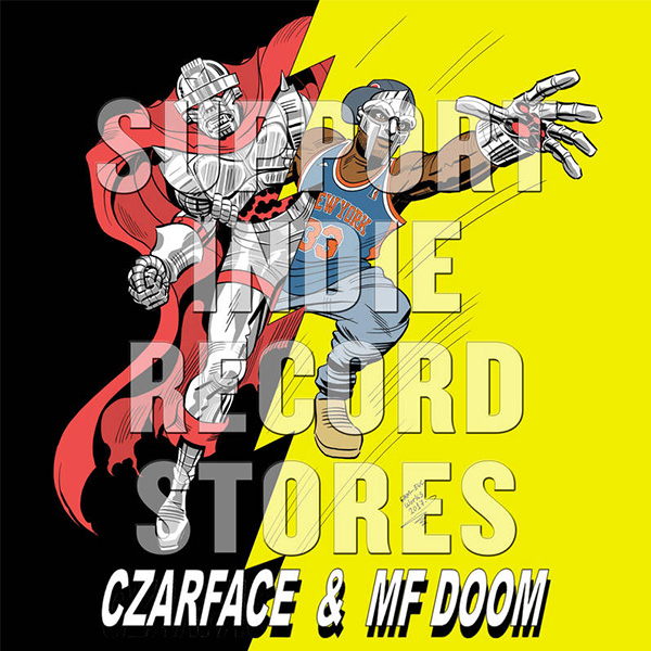 "Czarface & MF Doom - Man's Worst Enemy: Comic y 7"", limitado a 2375 copias, lanzamiento exclusivo para Record Store Day"