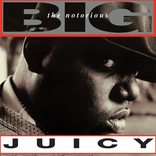 "Notorious B.I.G., The - Juicy: 12"", 140 gramos, Vinilo de con efecto de remolino color mármol claro y negro, limitado a 5250 copias, lanzamiento exclusivo de Record Store Day."